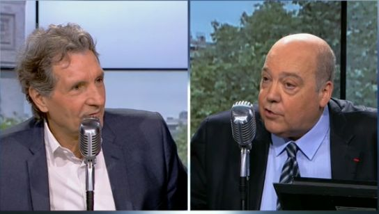 Photo RMC INFO - Interview Bourdin - Claude Tarlet