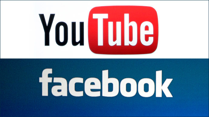 Logo Facebook-YouTube