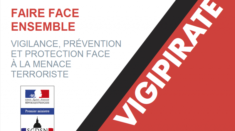 Brochure plan Vigipirate Décembre 2016