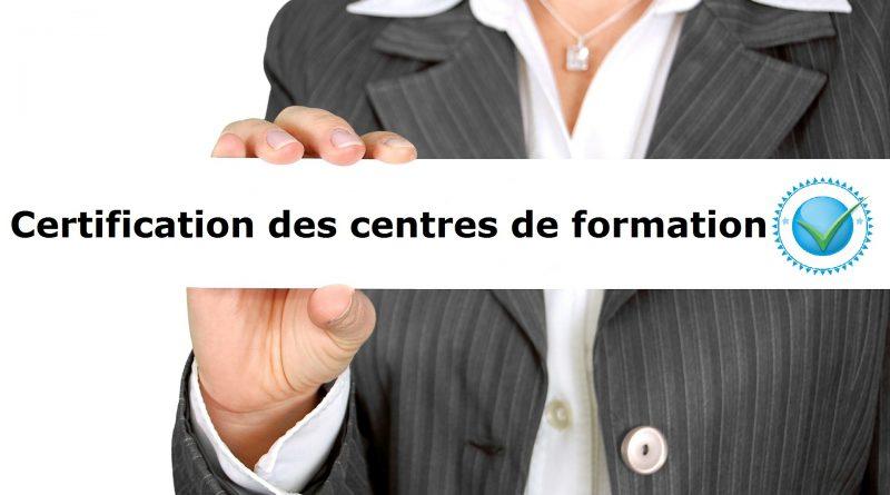 Deux organismes retenus pour la certification des centres de formation
