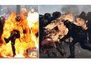 Paris : les forces de police violemment agressées lors de la manifestation du 1er mai