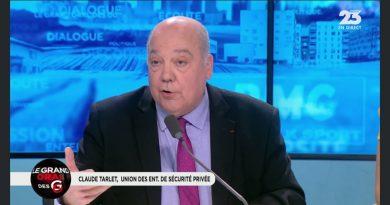 Interview de Claude Tarlet dans l'émission « le Grand oral des grandes gueules » sur RMC