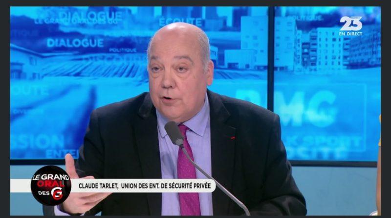 Interview de Claude Tarlet dans l'émission les grandes gueules sur RMC