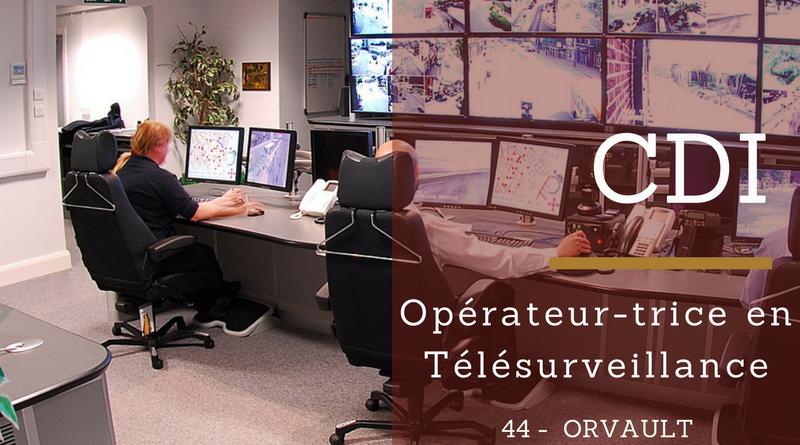 Opérateur-trice de Télésurveillance HF - Région nantaise (44)