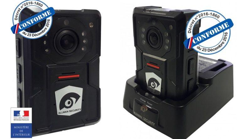 La PME française Allwan security équipera les forces de l'ordre de 10 400 caméras piétons
