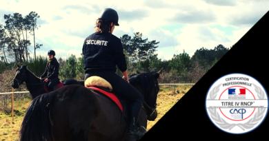 L'Ecole Garde Équestre, premier centre de formation en France à obtenir le Titre IV d'Agent de Prévention et de Sécurité Équestre (Garde Équestre)