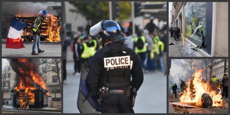 Gilets jaunes : Fermeture des commerces présents sur le parcours de la manifestation du 1er mai consigné par un arrêté