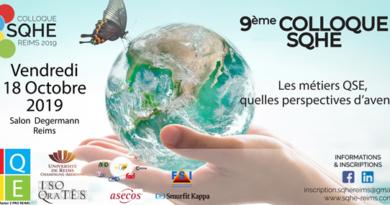 Lancement de la 9ème édition du colloque SQHE à Reims le 18 octobre 2019